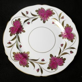 "Grosvenor Tiffany ""culross"" Salad Plates"