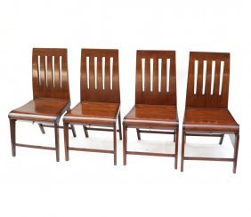 Set Of Four Deck Chairs
