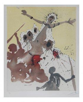Salvador Dali, Alijah Series- Lithograph