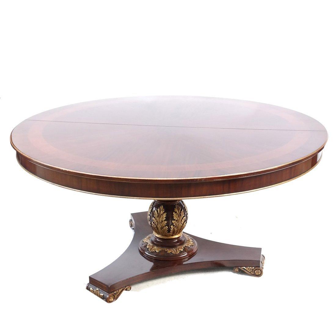 George III Style Circular Dining Table