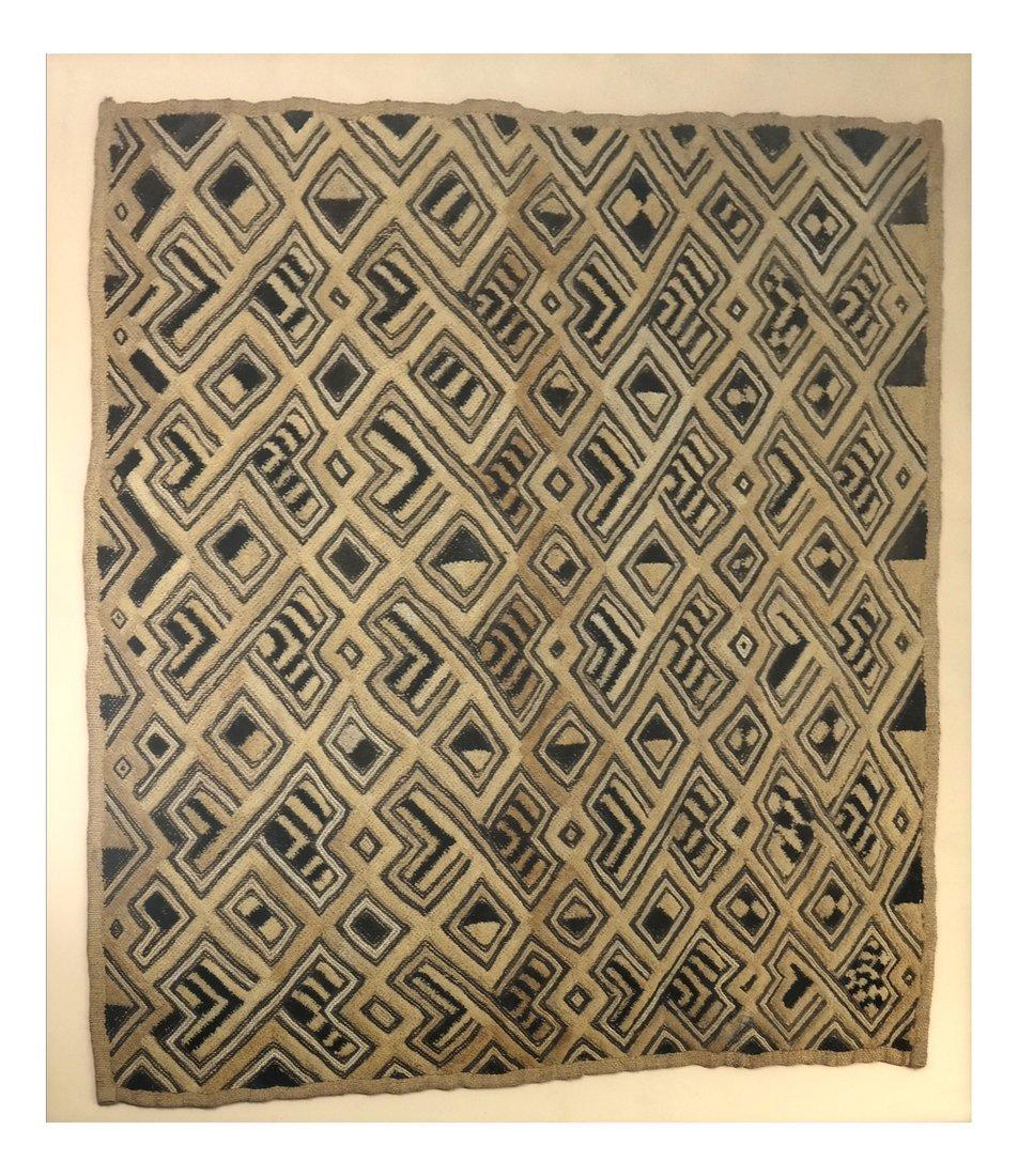 Framed Tribal Textile Fragment