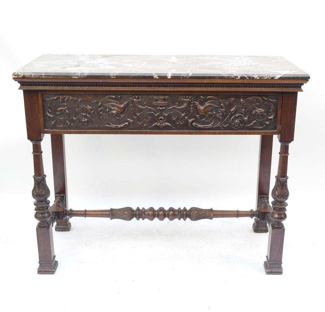 Continental Neoclassical Style Console