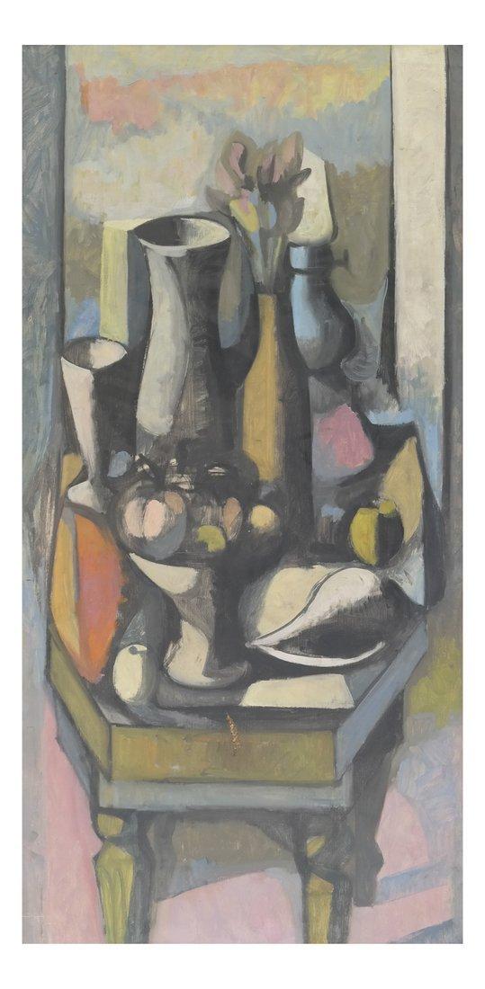 Modern Still Life on Canvas