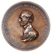 James K. Polk 1845 Inaugural Medal