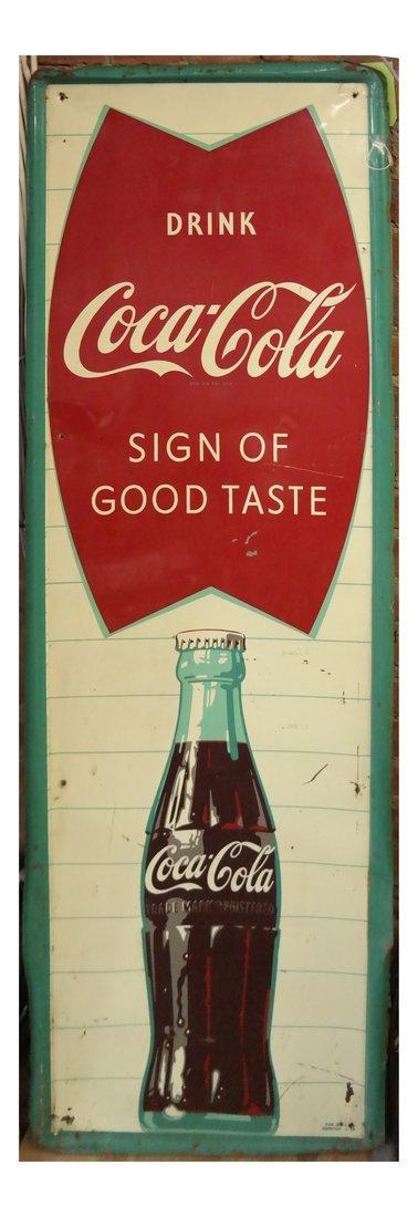 'Drink Coca-Cola Sign of Good Taste'