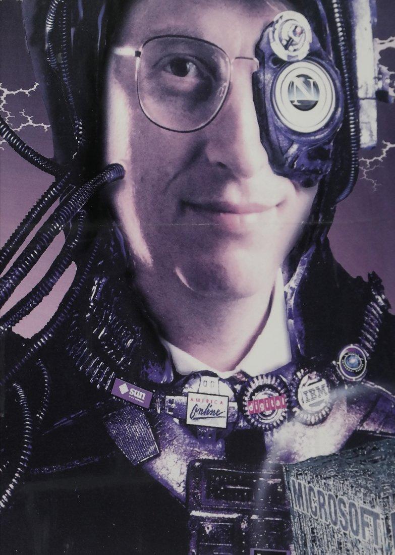 Boardwatch 'BILLGATUS OF BORG' Poster, 1996 - 6