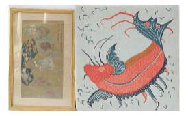 Two Chinese Style Pictures