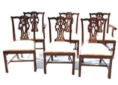 """""""Maitland Smith"""" Chippendale Chairs"""