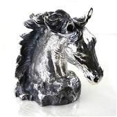 Sterling Silver Plata Artistica Horse Statue