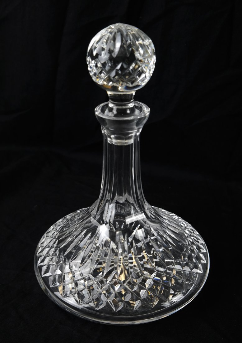 Three Various Crystal Decanters - 4