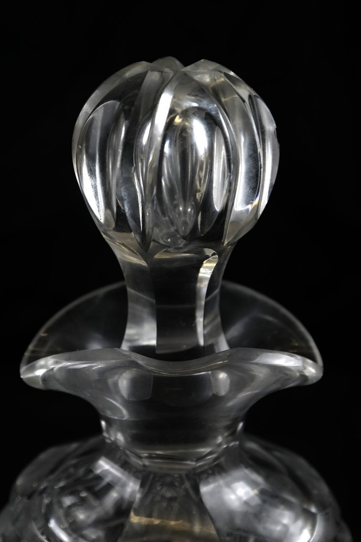Three Various Crystal Decanters - 7