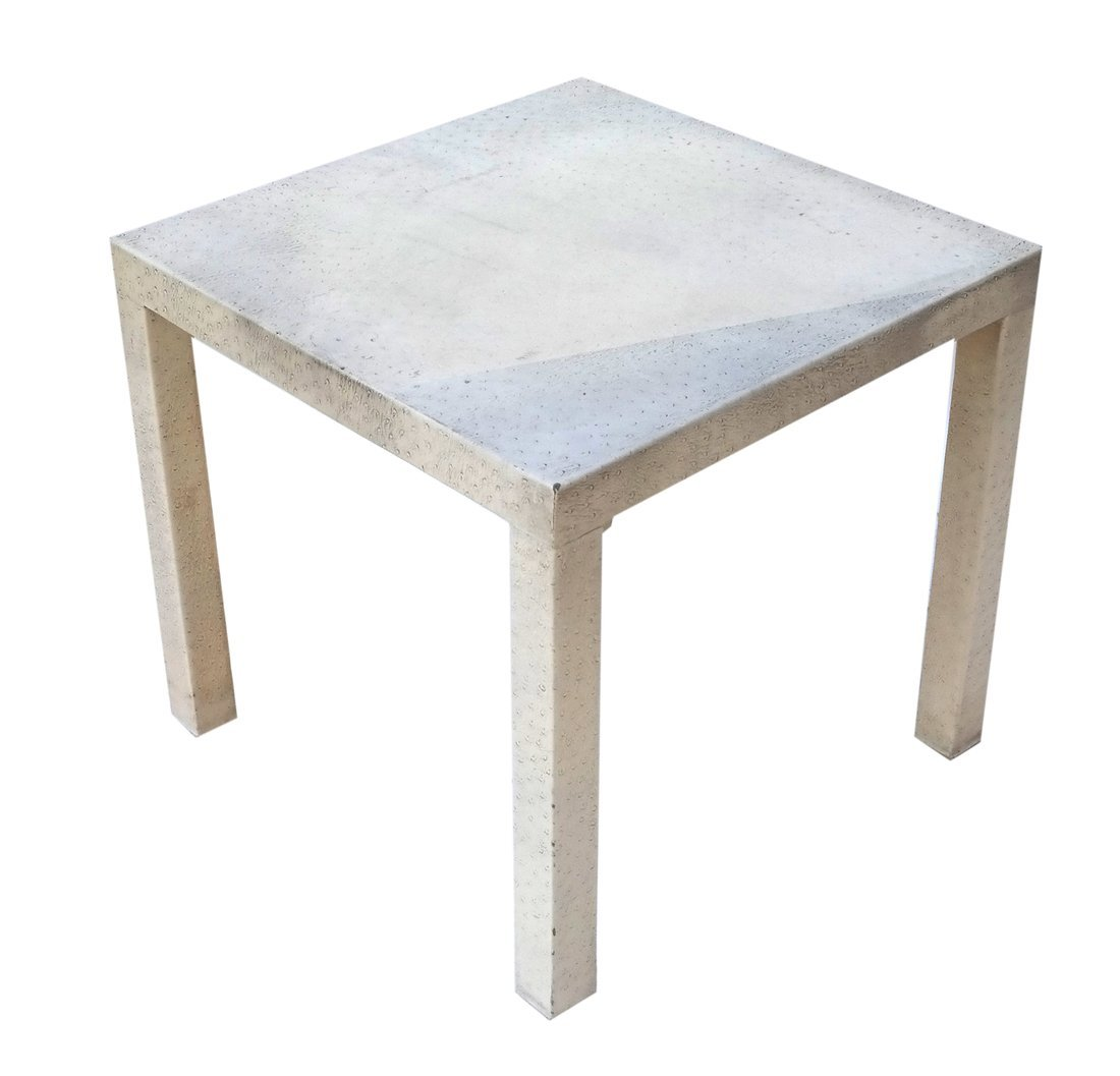 Ostrich Skin Table