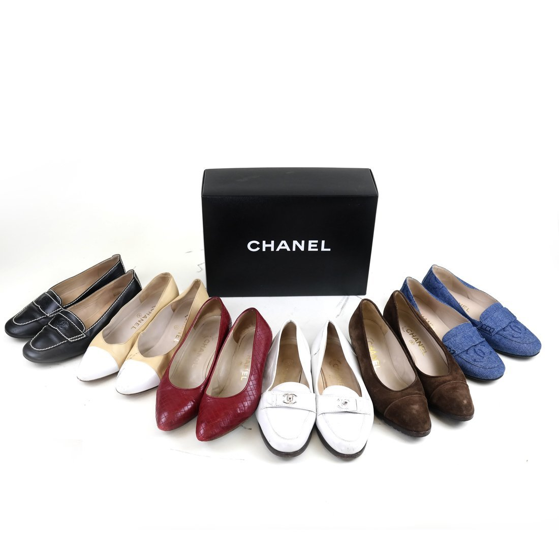 Six Pairs Chanel Shoes
