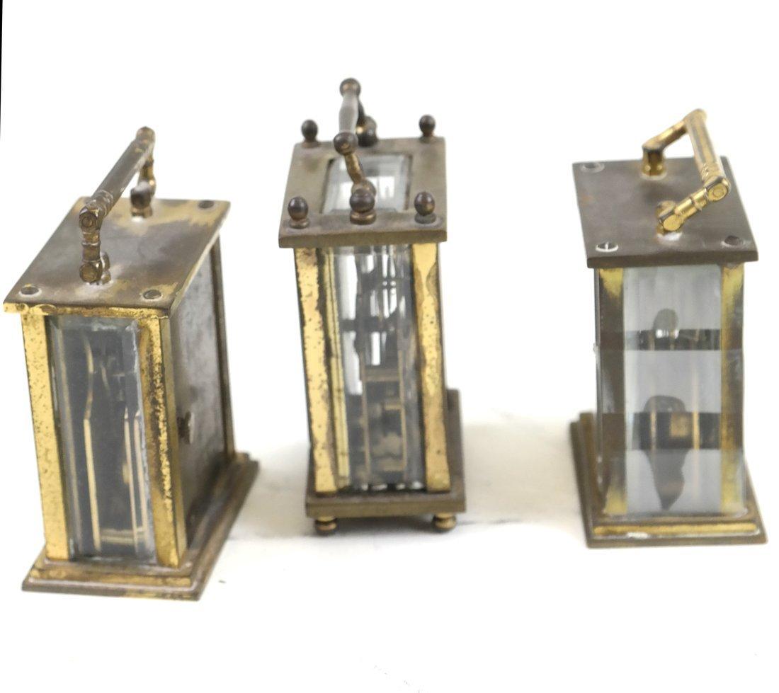 Three Diminutive Carriage Clocks - 2