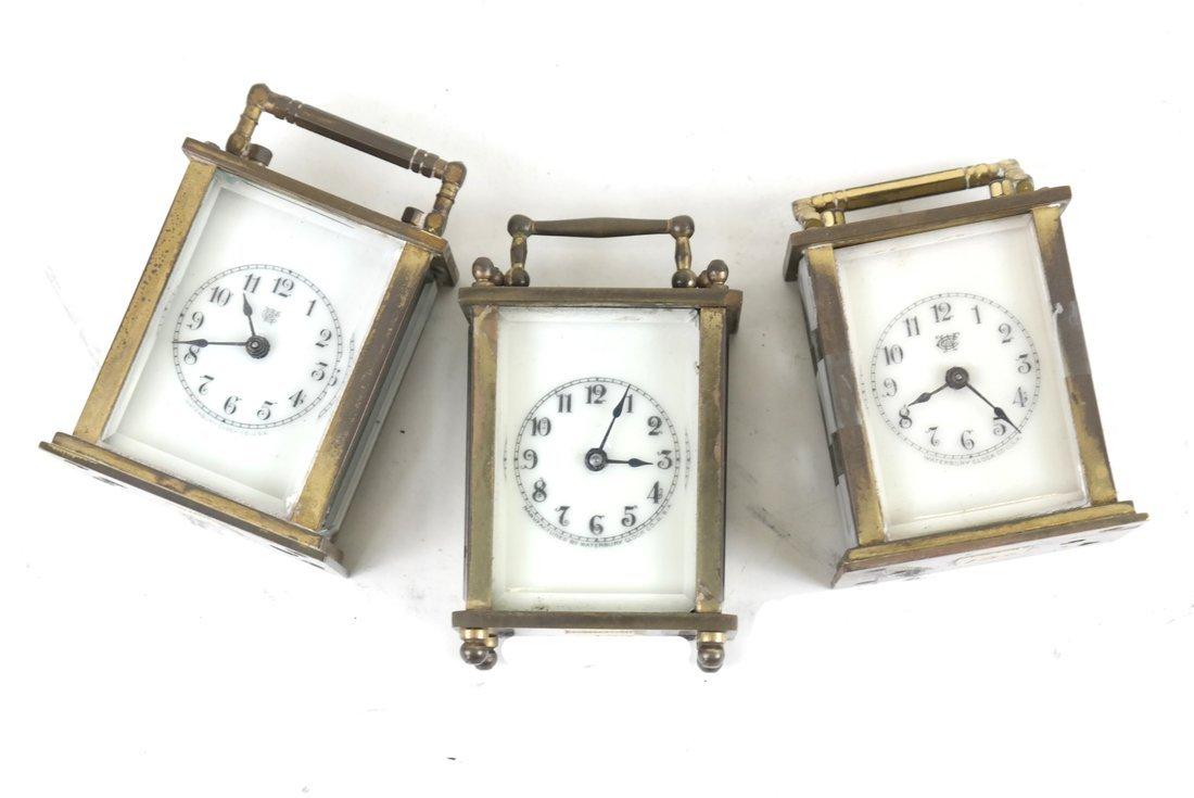 Three Diminutive Carriage Clocks - 3