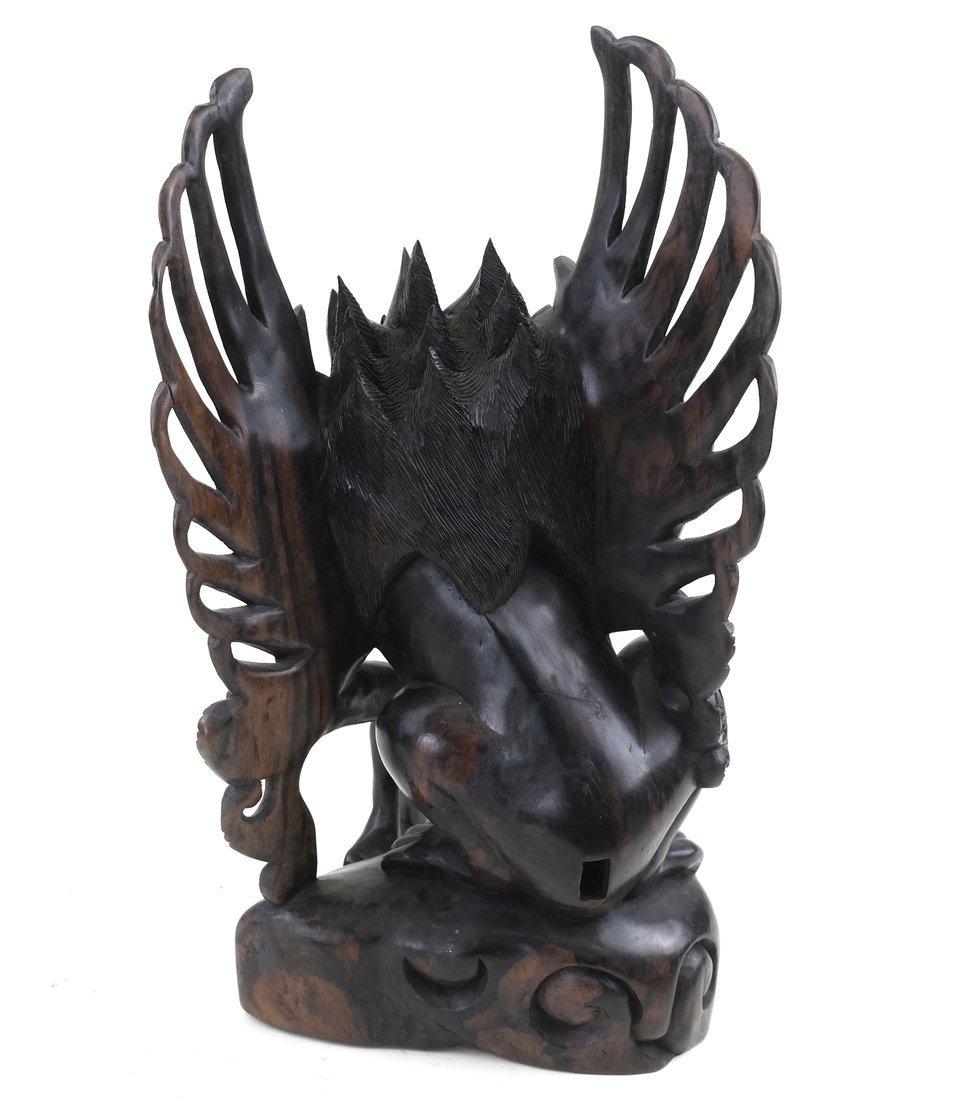 Carved Garuda Figure - 5