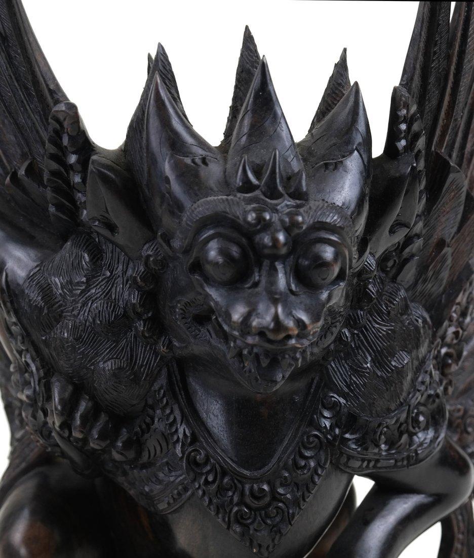 Carved Garuda Figure - 8