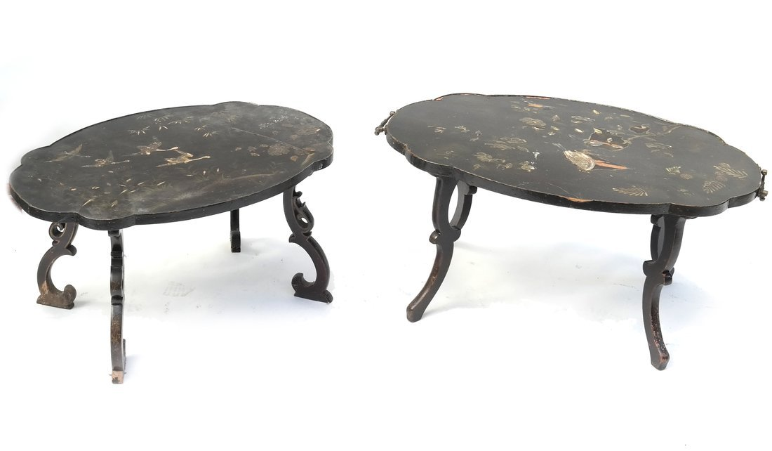 Two Chinoiserie Coffee Tables