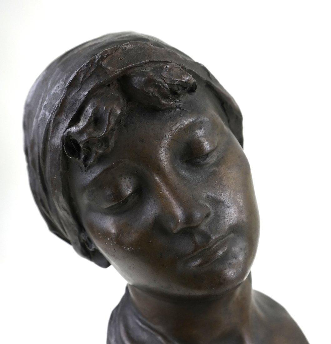 E. Rossi, Classical Bronze Bust - 2