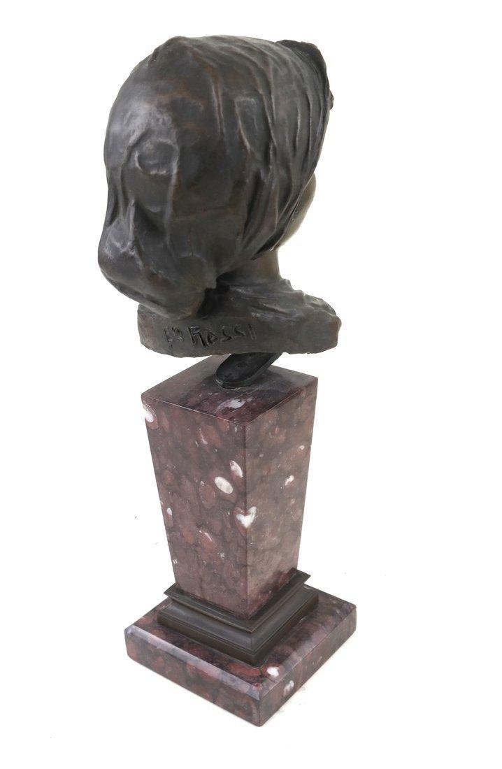 E. Rossi, Classical Bronze Bust - 3