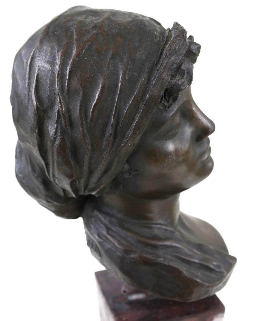 E. Rossi, Classical Bronze Bust - 5