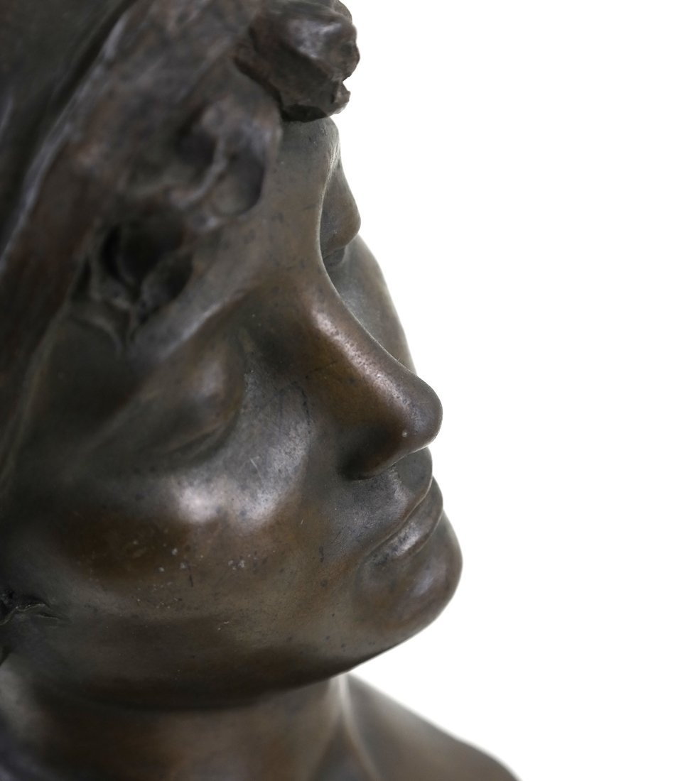E. Rossi, Classical Bronze Bust - 6