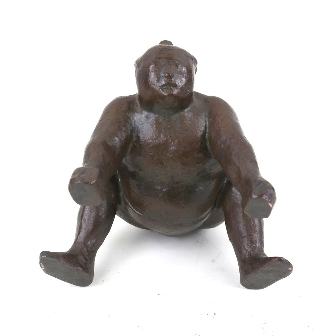 Bronze Sumo Wrestler - 2