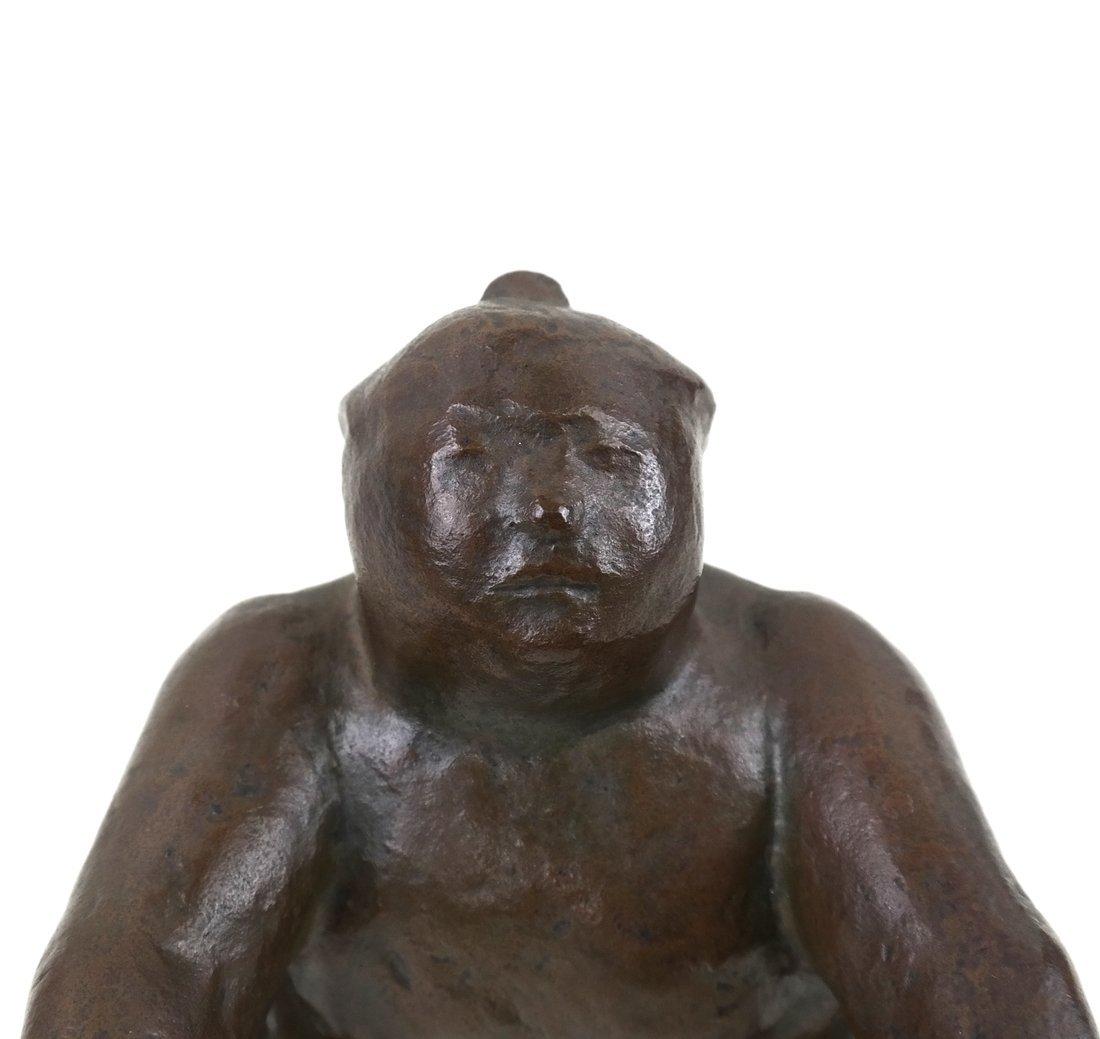 Bronze Sumo Wrestler - 6