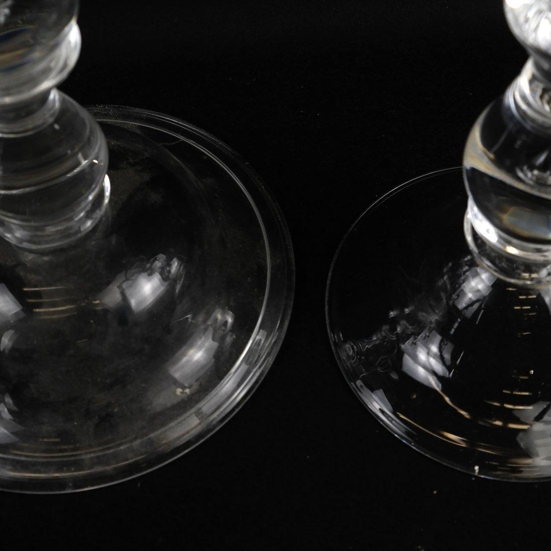 Four Similar Steuben Candlesticks - 6