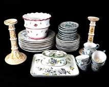 Group of Decorated Ceramics