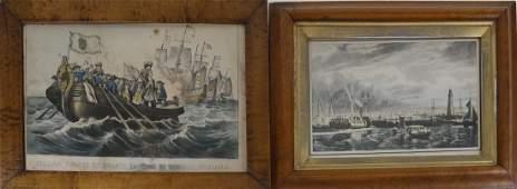 Two Maritime Prints