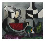 Arzvaga Modern Still Life Oil on Canvas