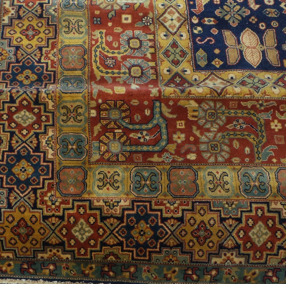 Persian Style Wool Rug - 2