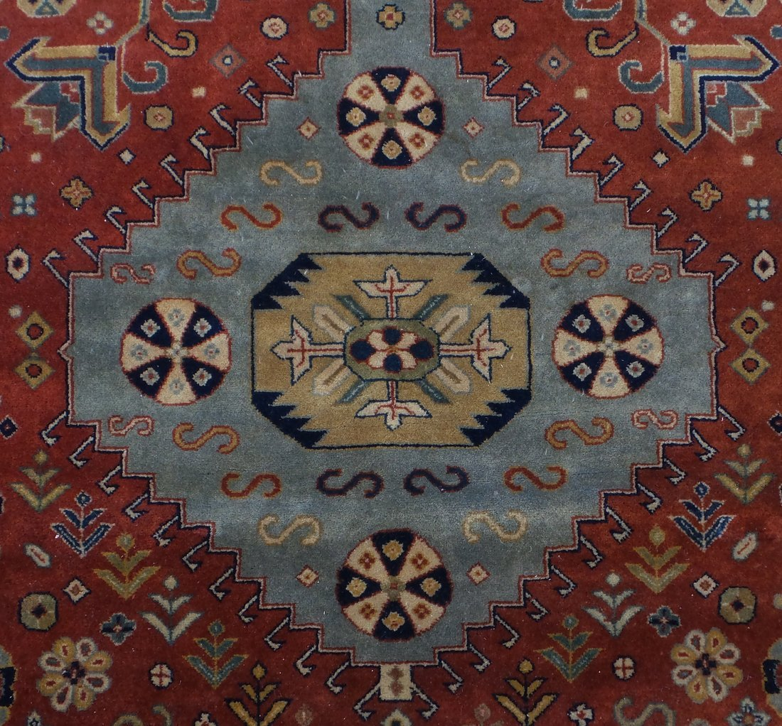 Persian Style Wool Rug - 3