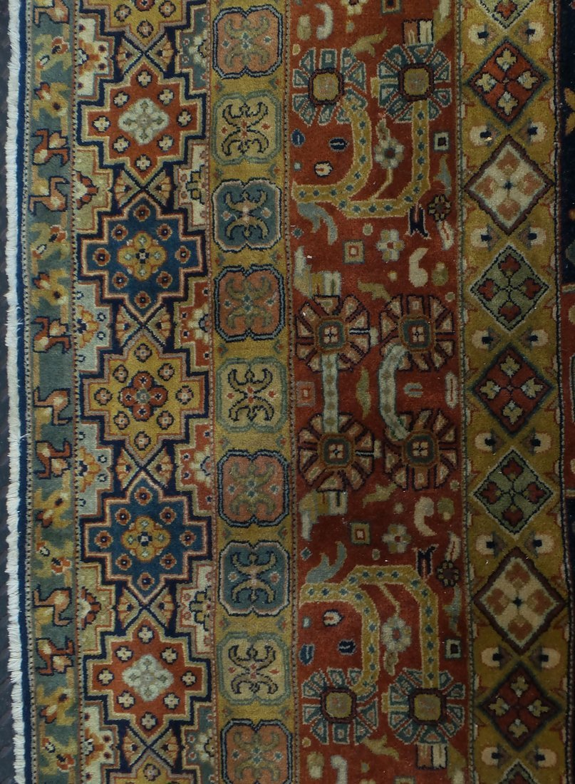 Persian Style Wool Rug - 5