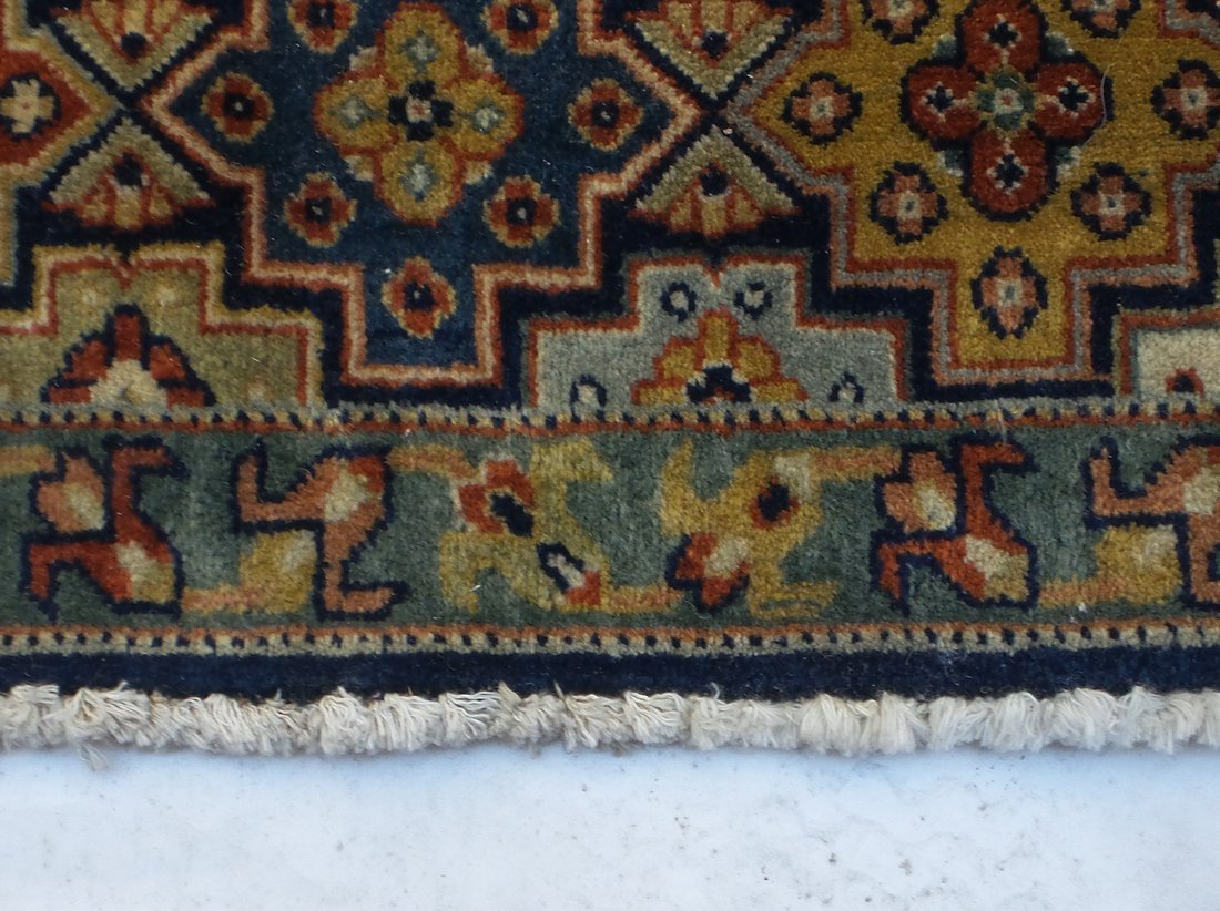 Persian Style Wool Rug - 6