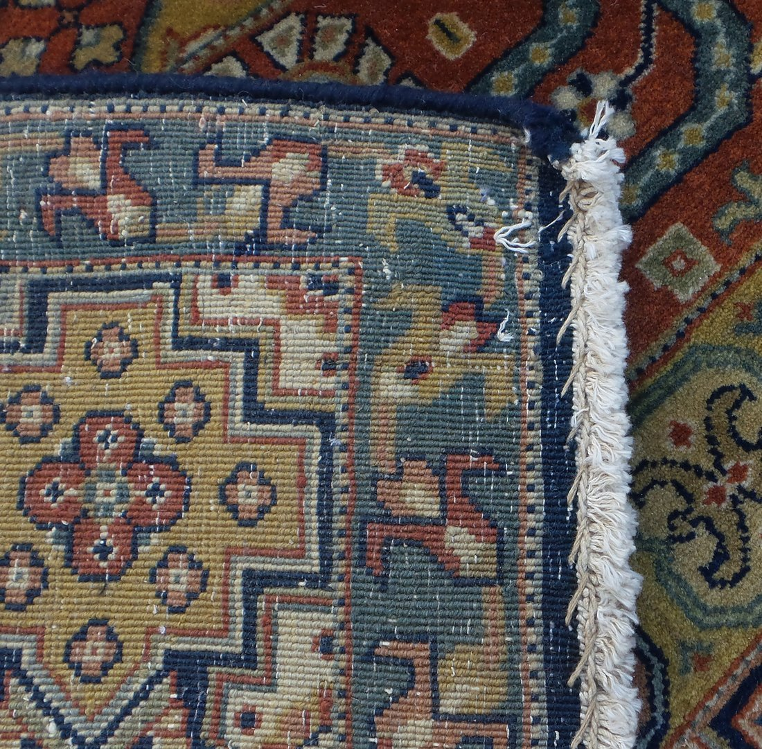 Persian Style Wool Rug - 7