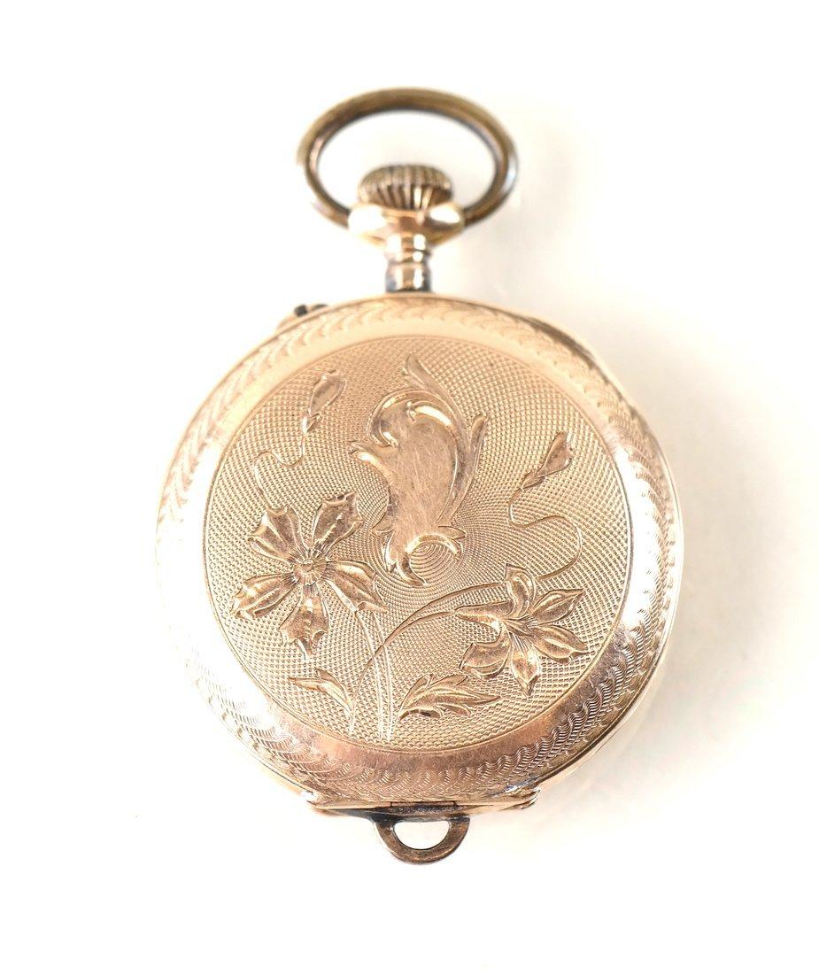14K Yellow Gold Pocket Watch - 3