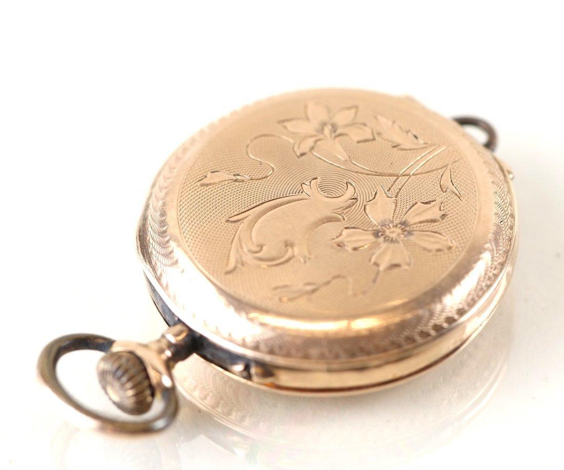 14K Yellow Gold Pocket Watch - 6