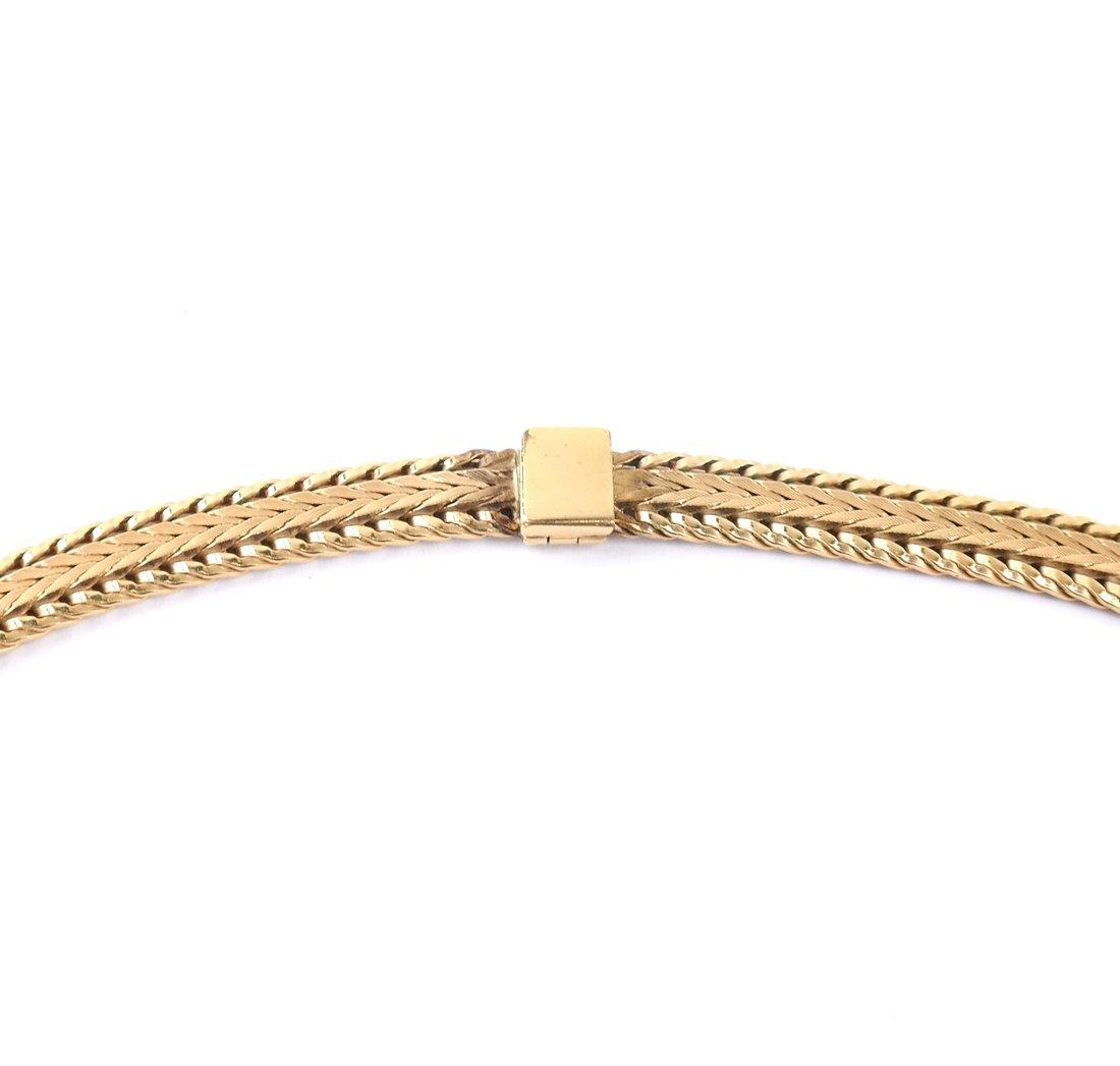 Continental Gold-Plated Mesh Choker - 2