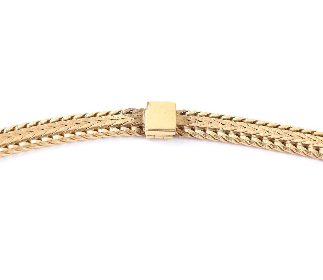 Continental Gold-Plated Mesh Choker - 4
