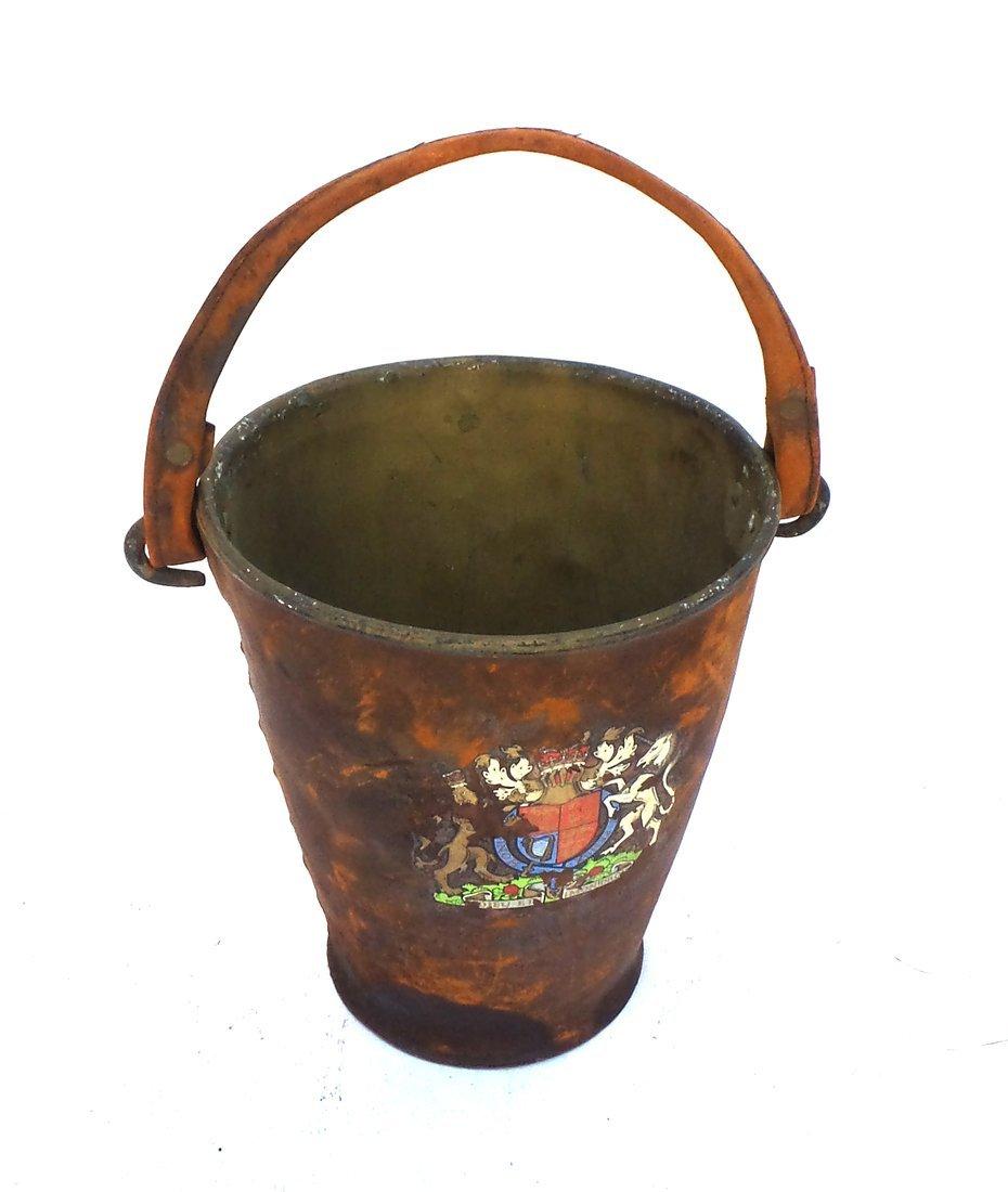 Antique Iron Bucket - 2
