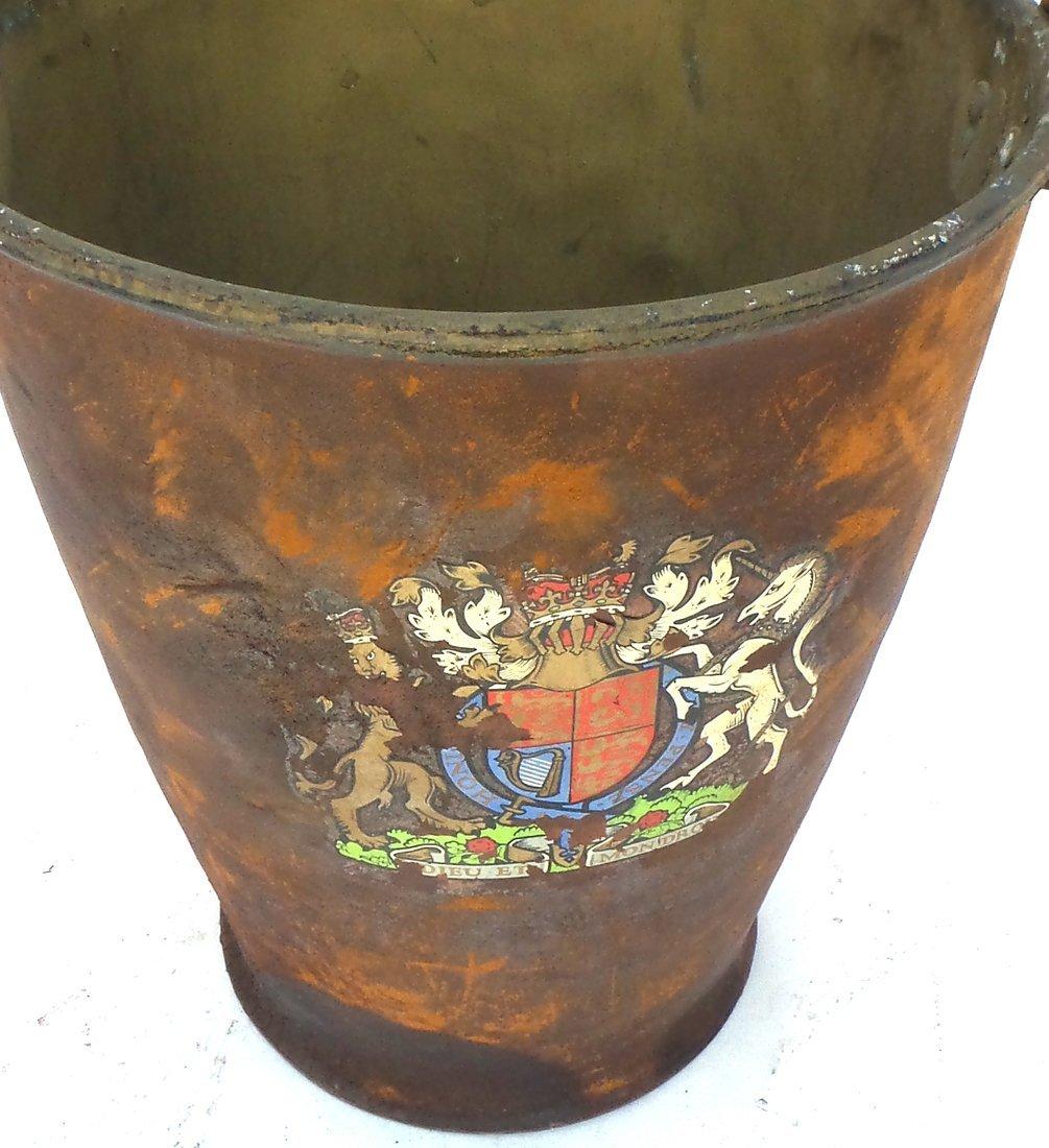 Antique Iron Bucket - 3