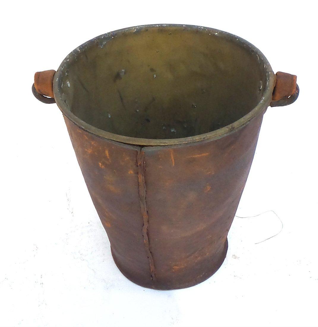 Antique Iron Bucket - 6