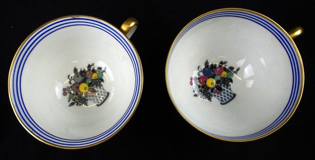 Limoges for S & G Gump, Dessert Set - 2
