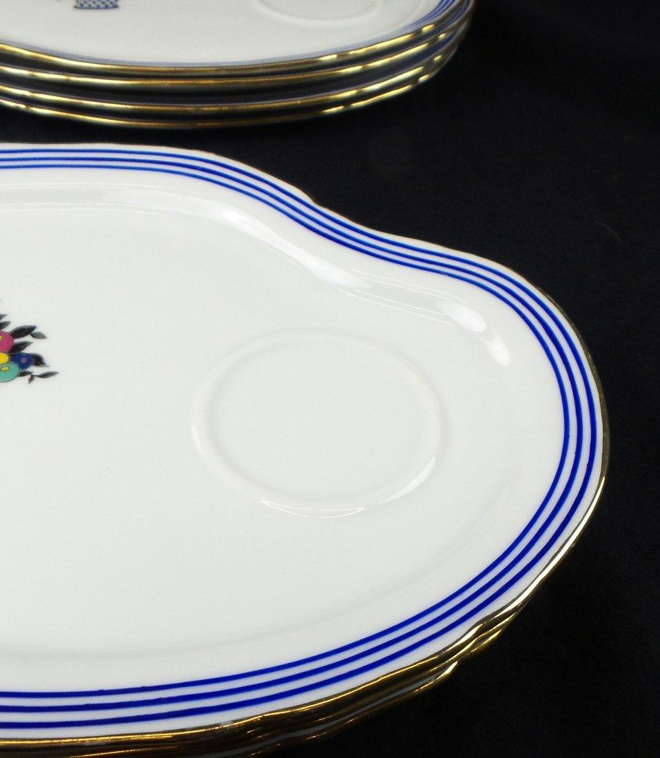 Limoges for S & G Gump, Dessert Set - 6