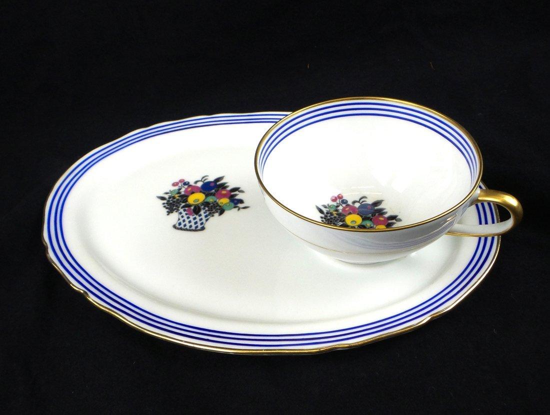 Limoges for S & G Gump, Dessert Set - 8