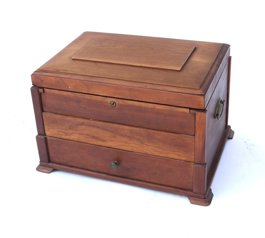 Antique Silver Box