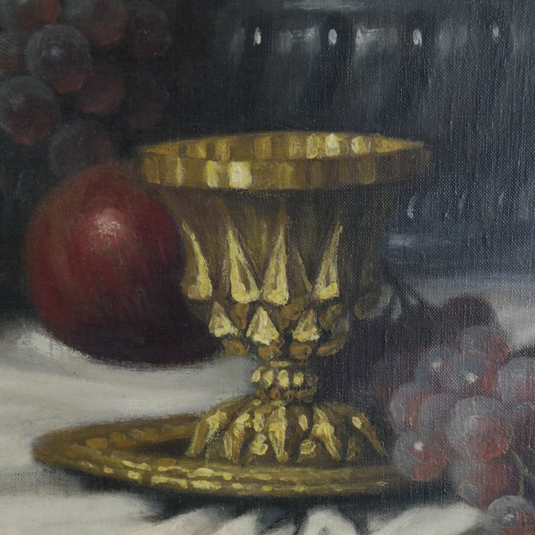 J. Friedlinger Still Life, Oil on Canvas - 4