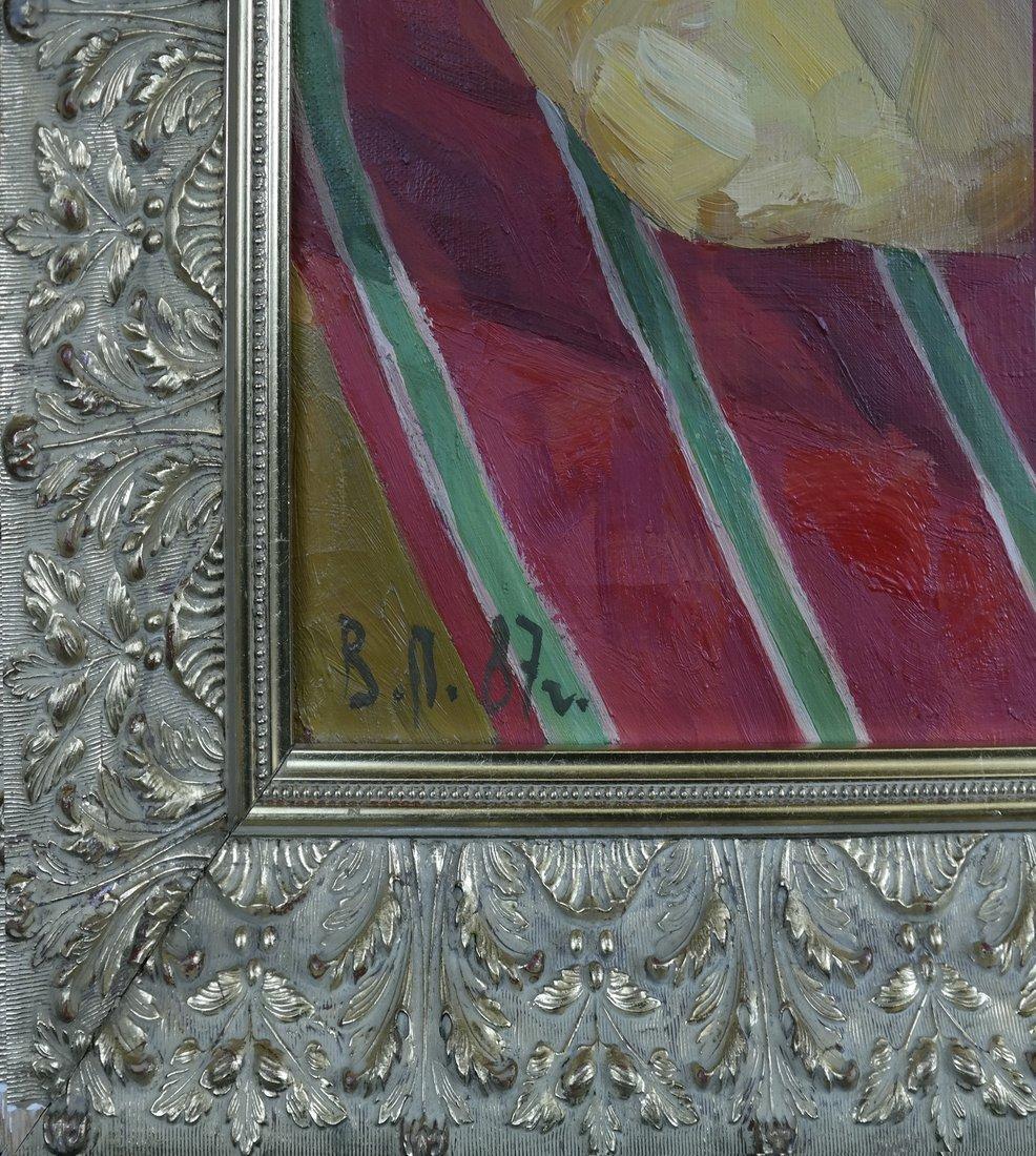 Modern Still Life, Oil On Canvas - 3